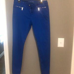 Blue Michael Kors Skinny Jeans